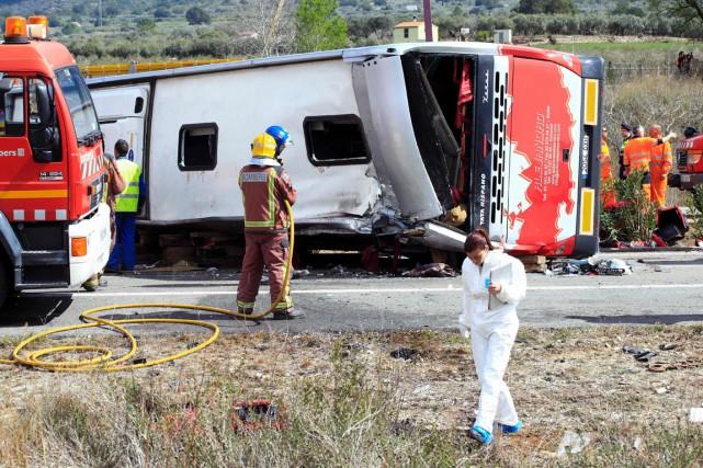 L'accident s'est produit peu avant 06h00 locales à... (Photo AFP)