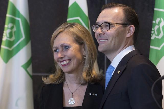 Le président élu du Mouvement Desjardins, Guy Cormier,... (La Presse Canadienne)