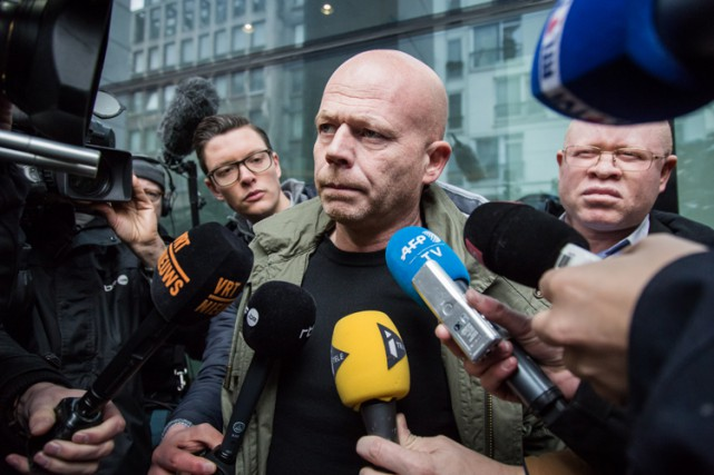 L'avocat de Salah Abdeslam, Me Sven Mary (photo), s'est... (PHOTO AFP)