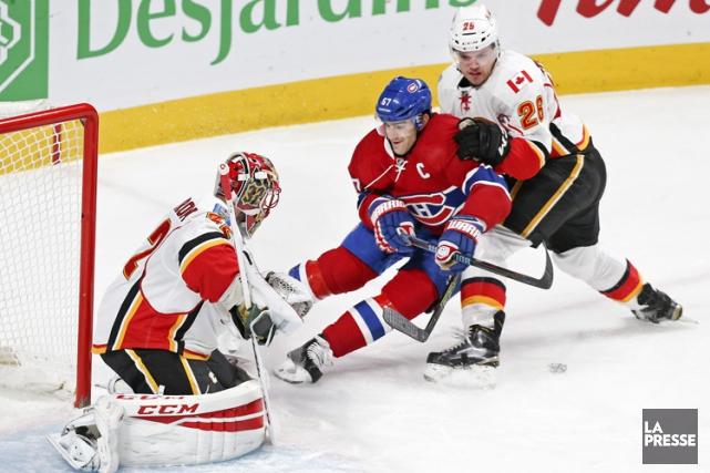 Relisez le clavardage du match entre le Canadien et les Flames de Calgary avec... (PHOTO REUTERS)