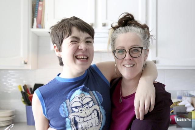Sheila Quinn raconte son histoire et celle de... (Julie Catudal, La Voix de l'Est)