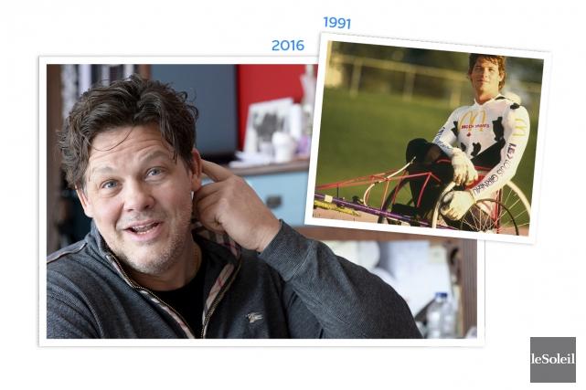 Luke Gingras, médaillé paralympique aux Jeux de 1992... (Infographie Le Soleil)