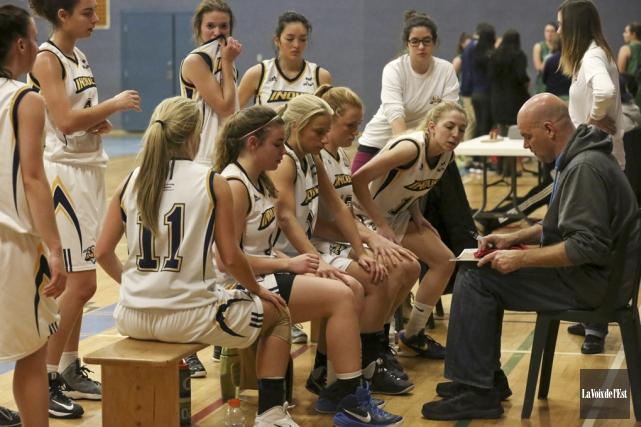 La saison des Inouk du basket féminin s'est... (Archives La Voix de l'Est)
