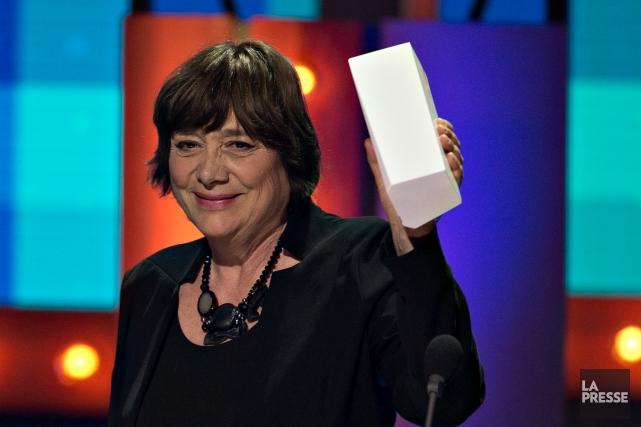 Léa Pool devient d'ailleurs la première femme à... (La Presse, Olivier Jean)