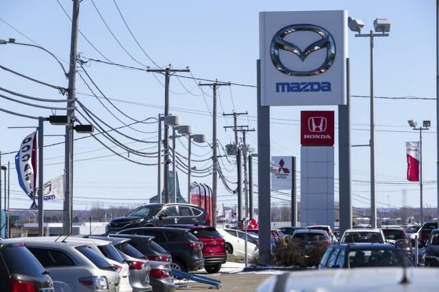 Selon la Corporation des concessionnaires d'automobiles de la... (Olivier Croteau)