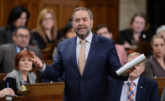 Les militants néo-démocrates qui se réuniront en congrès... (PhotoSean Kilpatrick, archives La Prese Canadienne)