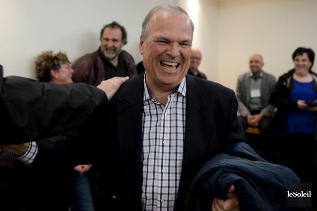 À Saint-Augustin,Raynald Brulotte, a été élu conseiller municipal... (Le Soleil, Erick Labbé)