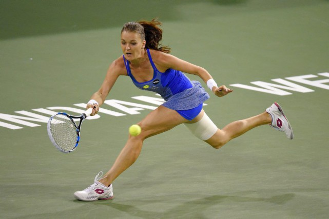 Agnieszka Radwanska... (PHOTO MARK J. TERRILL, AP)