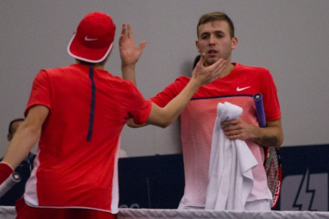 Daniel Evans a vaincu Denis Shapovalov, le dernier Canadien en... (Photo fournie)