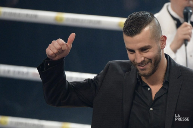 David Lemieux... (PHOTO BERNARD BRAULT, ARCHIVES LA PRESSE)