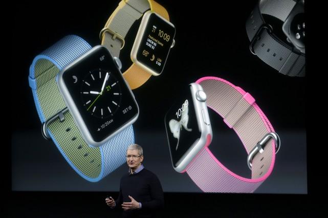 Apple a abaissé lundi à 299$ le premier... (AP, Marcio Jose Sanchez)