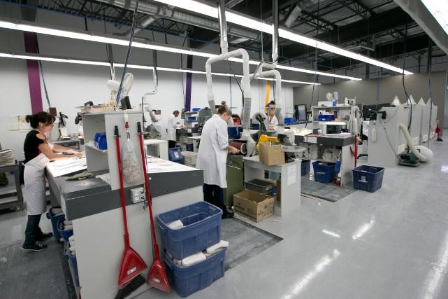 «Les PME dont la masse salariale ne dépasse... (PHOTO HUGO-SÉBASTIEN AUBERT, ARCHIVES LA PRESSE)