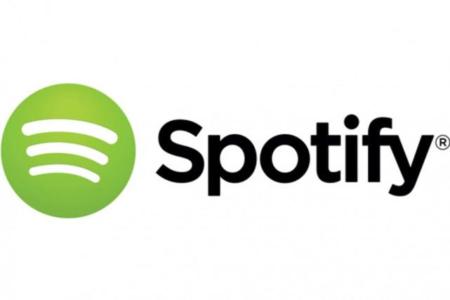 Spotify est valorisée à hauteur de 8 milliards... (CAPTURE D'ÉCRAN)