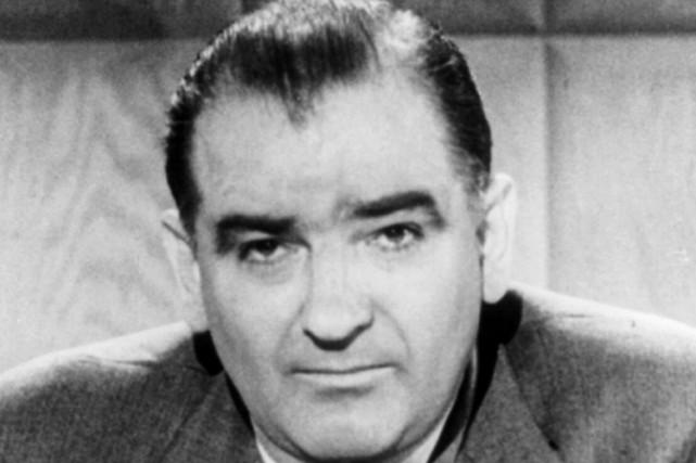 Joseph McCarthy a occupé le poste de sénateur... (PHOTO WIKICOMMONS)