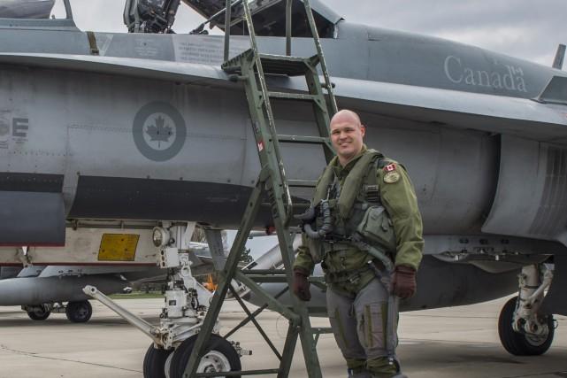Le lieutenant-colonel David Turenne.... (Photo courtoisie, caporal Eric Girard)