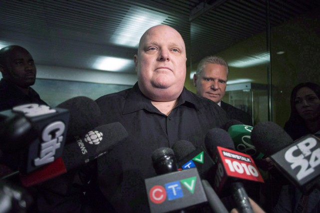 Rob Ford en novembre 2014.... (Archives La Presse Canadienne)
