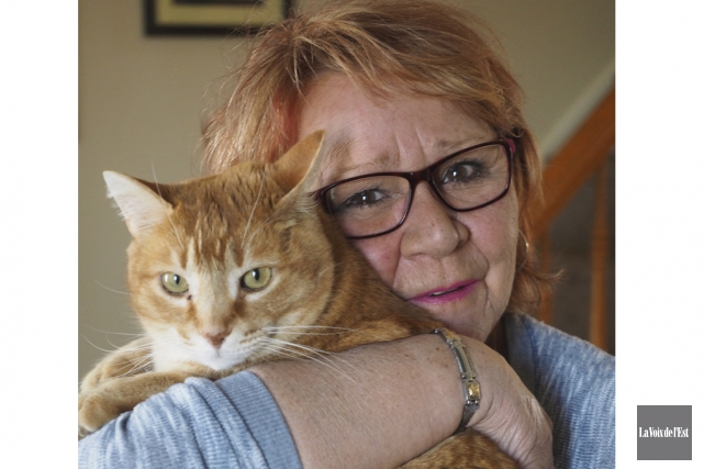 Susie Dumoulin est sans nouvelles d'un de ses... (Alain Dion, La Voix de l'Est)