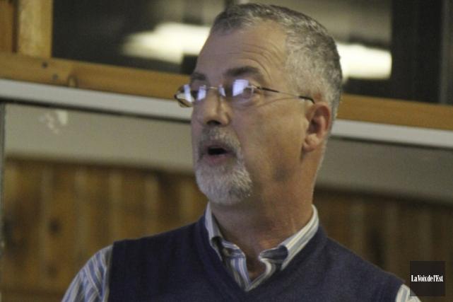 Le conseiller Kenneth Hill... (photo Janick Marois, archives La Voix de l'Est)