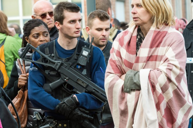 Depuis les attentats djihadistes de Paris le 13... (Photo AP)