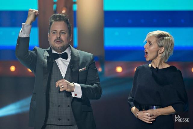 Le Gala du cinéma québécois n'a retenu que 531 000 téléspectateurs, dimanche... (PHOTO OLIVIER JEAN, LA PRESSE)