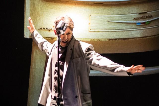 BOOM est une pièce écrite et jouée par... (PHOTO FOURNIE PAR LE CENTRE SEGAL)