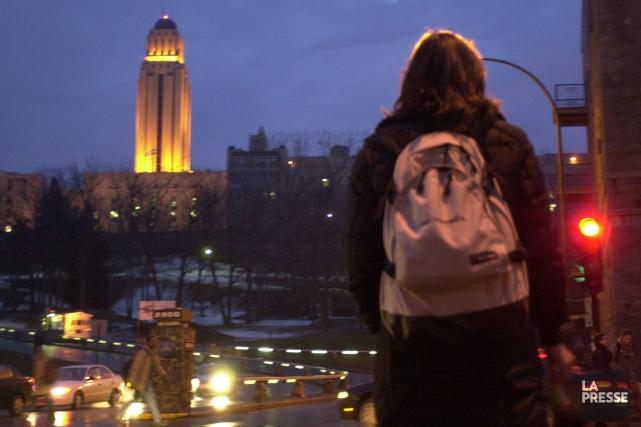 L'Université de Montréal entreprendra une consultation auprès de... (PHOTO MARTIN CHAMBERLAND, LA PRESSE)