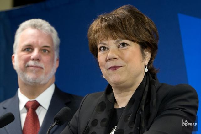 La ministre responsable de l'Enseignement supérieur, Hélène David,... (PHOTO ROBERT SKINNER, ARCHIVES LA PRESSE)