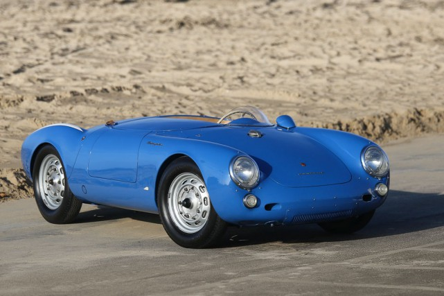 Une Porsche 550 Spyder 1955... (Photo fournie par Gooding & Company)