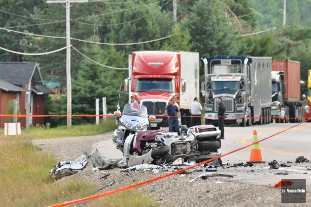 L'accident du 7 août 2012 a coûté la... (Archives Le Nouvelliste)