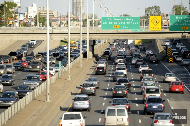 Vancouver demeure la ville canadienne où la circulation est la plus... (Archives La Presse)