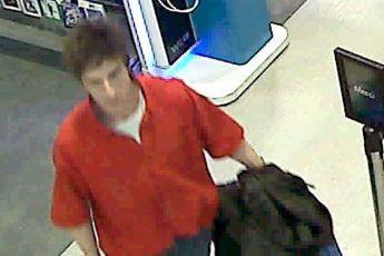 Le suspect recherché.... (Photo fournie par le SPS)