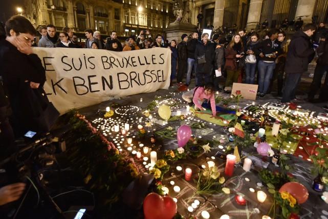Un groupe de citoyens belges de Sherbrooke se réuniront mardi soir à 18h30... (Photo AP)