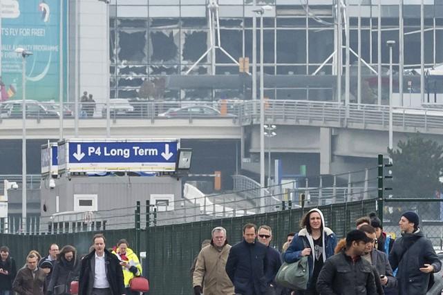 Les attentats de Bruxelles ont eu lieu mardi... (Photo AP)