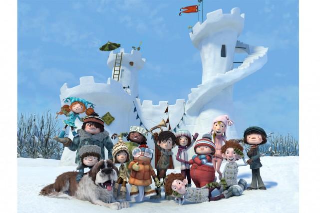 Les personnages de «La Guerre des tuques 3D»... (Fournie par Les Films Séville)