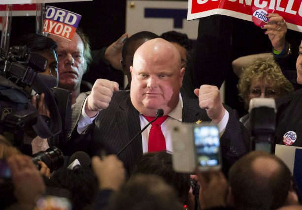 Rob Ford a succombé à un cancer 18... (La Presse Canadienne)