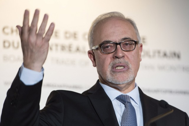 Le ministre des Finances du Québec, Carlos Leitao.... (PHOTO PAUL CHIASSON, LA PRESSE CANADIENNE)
