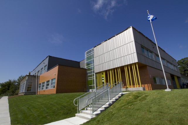 La nouvelle école C, qui devrait ouvrir ses... (Spectre Média, René Marquis)