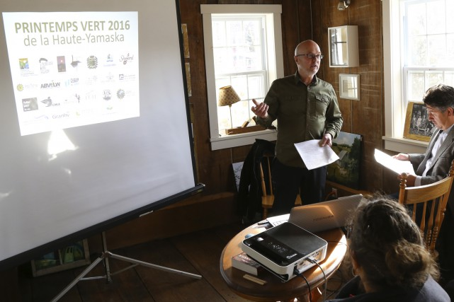 Bernard Valiquette, chargé de projets à la Fondation... (photo Janick Marois)