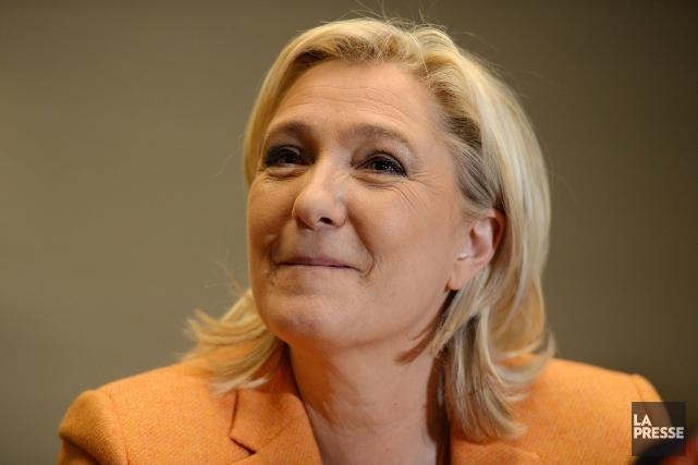 Je suis loin de partager l'idéologie de Marine Le Pen, présidente du Front... (La Presse, Érick Labbé)