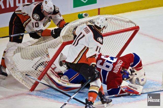 Relisez le clavardage du match entre les Ducks d'Anaheim et le Canadien de... (PHOTO ANDRÉ PICHETTE, LA PRESSE)