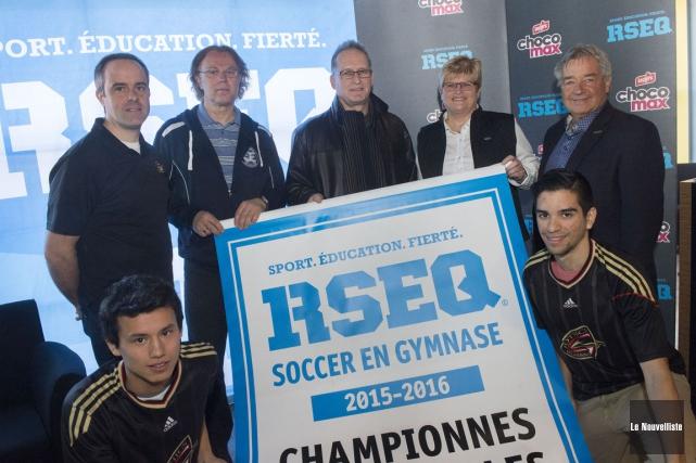 Le RSEQ Mauricie accueillera les ultimes tournois dans... (Stéphane Lessard, Le Nouvelliste)