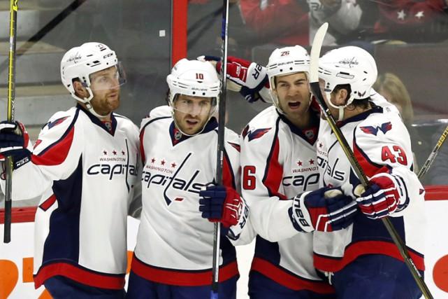 Les Capitals de Washington se sont assurés du premier rang dans l'Association... (PHOTO PC)