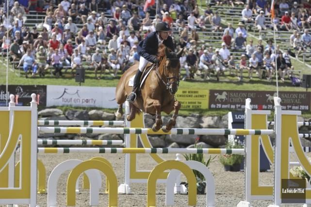 «C'est beau, un cheval, c'est beau, le sport... (Archives La Voix de l'Est)