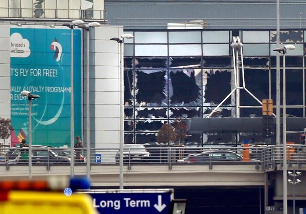 Les bombes qui ont explosé à l'aéroport de... (Photo François Lenoir, Reuters)