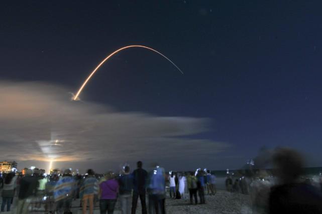 Cette version améliorée de Cygnus acheminera 3,6 tonnes... (PHOTO AP)