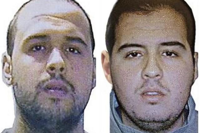 Les frères Khalid (gauche) and Ibrahim (droite) El... (PHOTO AFP)