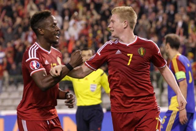 L'équipe nationale de soccer de la Belgique devait... (Photo Yves Logghe, AP)