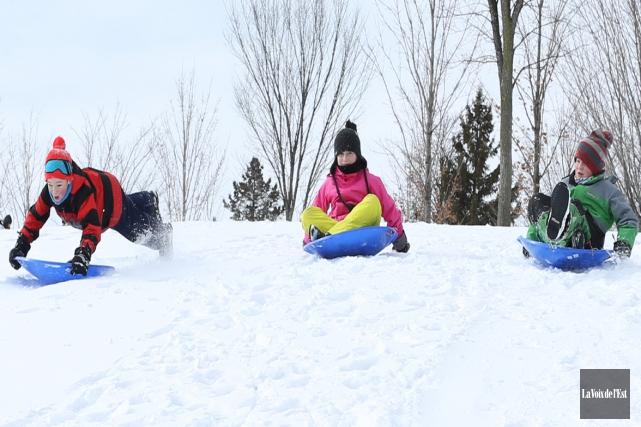 Les élèves de la Commission scolaire des Hautes-Rivières... (Photo Archives La Voix de l'Est)
