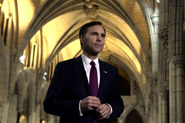 Bill Morneau... (Photo PC)