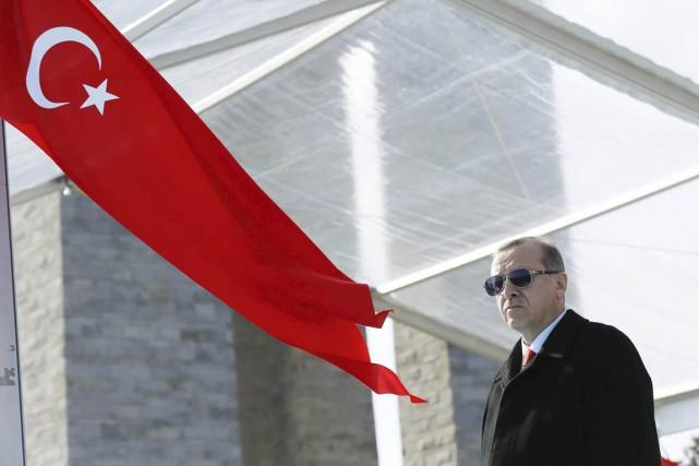 Le président turc Recep Tayyip Erdogan.... (PHOTO KAYHAN OZER, ARCHIVES REUTERS)